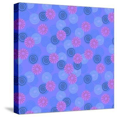 Pom-Pom-Laurence Lavallee-Stretched Canvas Print