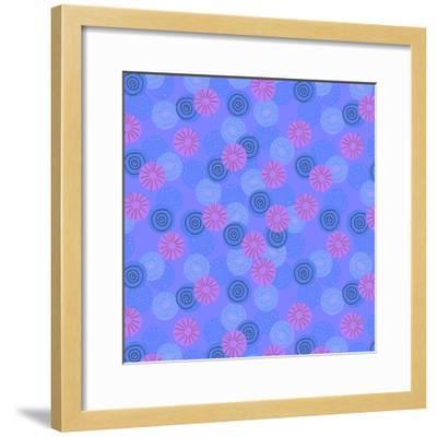 Pom-Pom-Laurence Lavallee-Framed Giclee Print