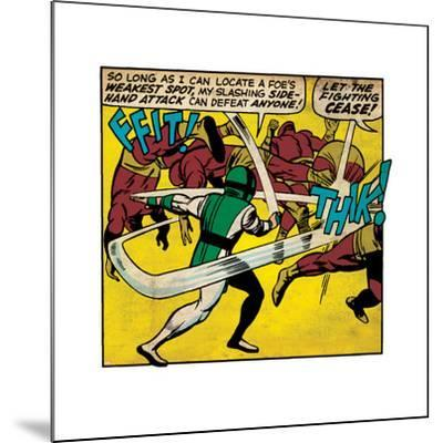 Marvel Comics Retro Style Guide: Karnak--Mounted Art Print