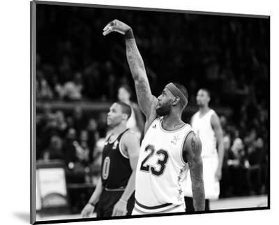 2015 NBA All-Star Game-Brian Babineau-Mounted Photo