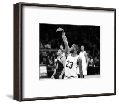 2015 NBA All-Star Game-Brian Babineau-Framed Photo