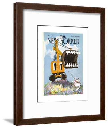 The New Yorker Cover - May 1, 1971-Mischa Richter-Framed Premium Giclee Print
