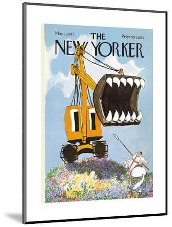 The New Yorker Cover - May 1, 1971-Mischa Richter-Mounted Premium Giclee Print