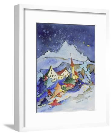 Winter in the Mountains 2001-Annette Bartusch-Goger-Framed Giclee Print