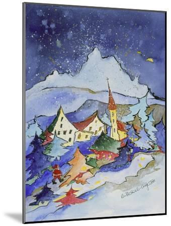 Winter in the Mountains 2001-Annette Bartusch-Goger-Mounted Giclee Print