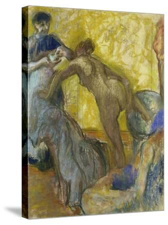 The Cup of Chocolate, C. 1900-05-Edgar Degas-Stretched Canvas Print