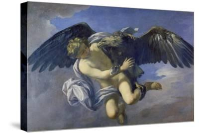 The Abduction of Ganymede-Anton Domenico Gabbiani-Stretched Canvas Print
