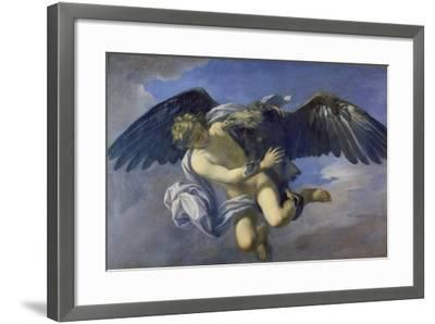 The Abduction of Ganymede-Anton Domenico Gabbiani-Framed Giclee Print