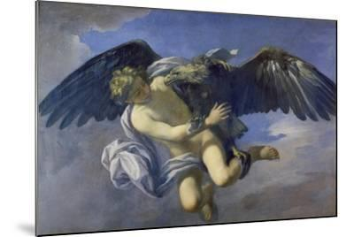 The Abduction of Ganymede-Anton Domenico Gabbiani-Mounted Giclee Print