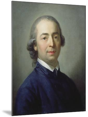 Portrait of Johann Gottfried Von Herder (1744-1803), 1785-Anton Graff-Mounted Giclee Print