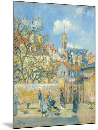 Le Parc Aux Charrettes, Pontoise, 1878-Canaletto-Mounted Giclee Print