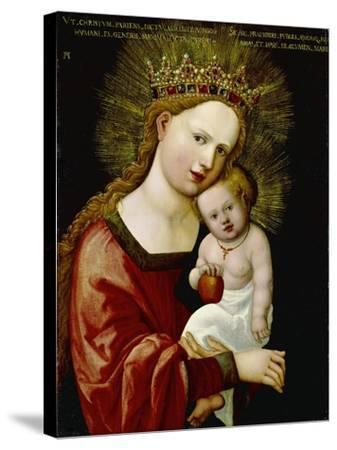 Madonna and Child, 1520-Albrecht Altdorfer-Stretched Canvas Print