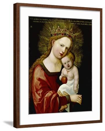 Madonna and Child, 1520-Albrecht Altdorfer-Framed Giclee Print