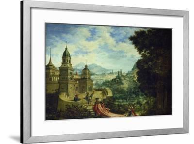 Allegory, the Beggar Is Sitting on the Train of Arrogance, 1531-Albrecht Altdorfer-Framed Giclee Print