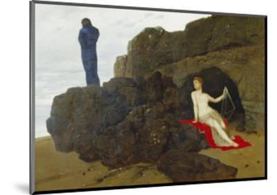 Ulysses and Calypso, 1883-Arnold B?cklin-Mounted Giclee Print
