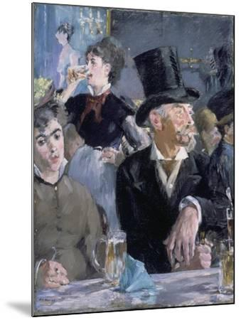 Le Café - Le Concert, 1878-Edouard Manet-Mounted Giclee Print