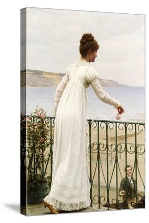 A Favour, 1898-Edmund Blair Leighton-Stretched Canvas Print