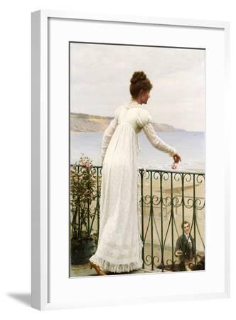 A Favour, 1898-Edmund Blair Leighton-Framed Giclee Print