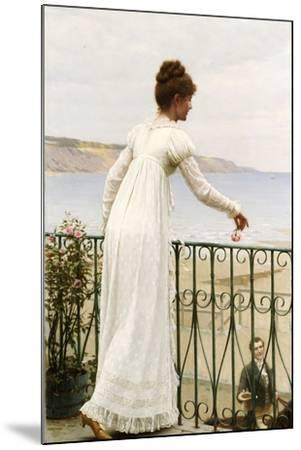 A Favour, 1898-Edmund Blair Leighton-Mounted Giclee Print