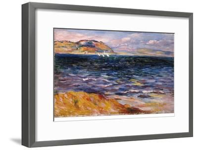 Bordighera, C. 1888-Pierre-Auguste Renoir-Framed Giclee Print