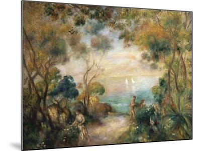 A Garden in Sorrento-Pierre-Auguste Renoir-Mounted Giclee Print
