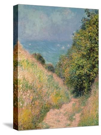 The Path of La Cavée at Pourville, 1882-Claude Monet-Stretched Canvas Print