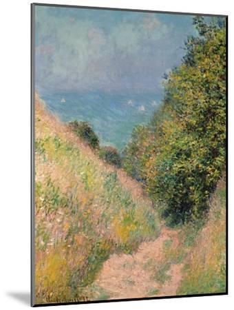 The Path of La Cavée at Pourville, 1882-Claude Monet-Mounted Premium Giclee Print