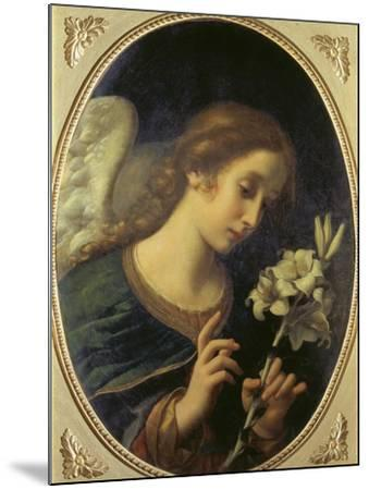 Angel of the Annunciation-Carlo Dolci-Mounted Giclee Print
