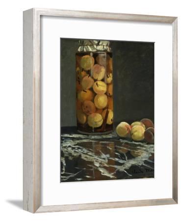 The Peach Glass, 1866-Claude Monet-Framed Giclee Print