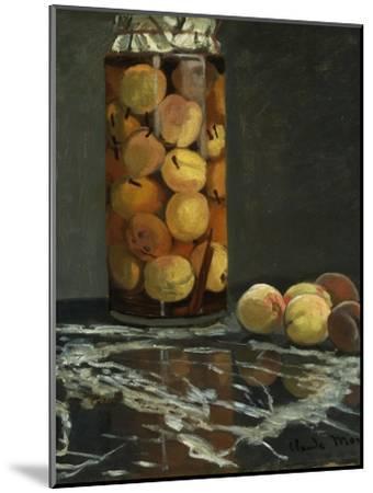 The Peach Glass, 1866-Claude Monet-Mounted Giclee Print