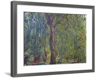 Weeping Willow, C. 1919-Claude Monet-Framed Giclee Print