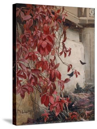 Wild Wine, 1907-Julius Sergius von Klever-Stretched Canvas Print