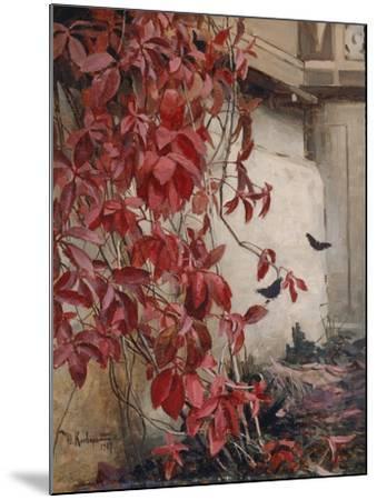 Wild Wine, 1907-Julius Sergius von Klever-Mounted Giclee Print