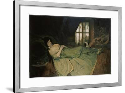 Julia Capulet, the Wedding Day Morning, 1874-Gabriel Von Max-Framed Giclee Print