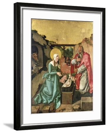 Nativity, 1510-Hans Baldung-Framed Giclee Print