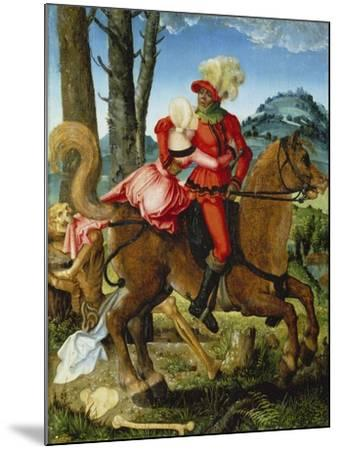 The Knight, the Young Girl and Death-Hans Baldung-Mounted Giclee Print