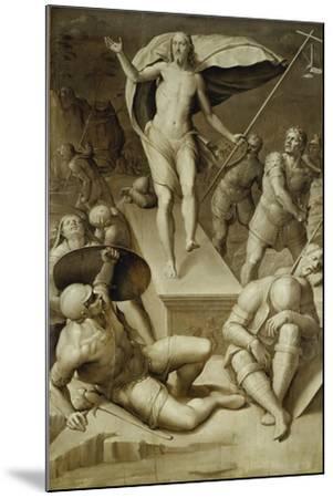 Resurrection of Christ- Florentinische Schule-Mounted Giclee Print