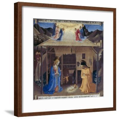 Nativity-Fra Angelico-Framed Giclee Print