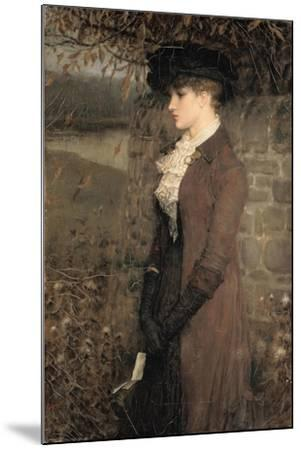 Falling Leaves-George Henry Boughton-Mounted Giclee Print