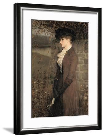 Falling Leaves-George Henry Boughton-Framed Giclee Print
