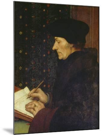 Erasmus of Rotterdam, 1523-Hans Holbein the Younger-Mounted Giclee Print