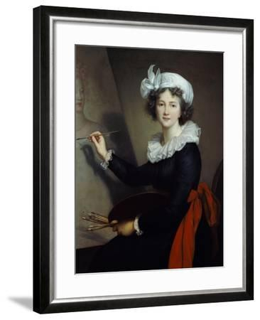 Selbstbildnis Beim Malen-Elisabeth-Louise Vigée-Lebrun-Framed Giclee Print