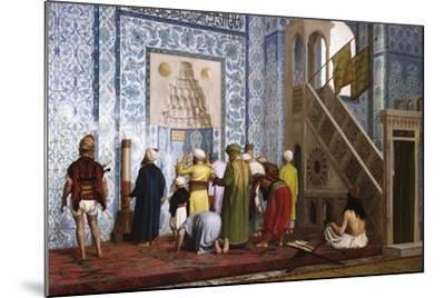 The Blue Mosque, 1878-Jean-L?on G?rome-Mounted Giclee Print