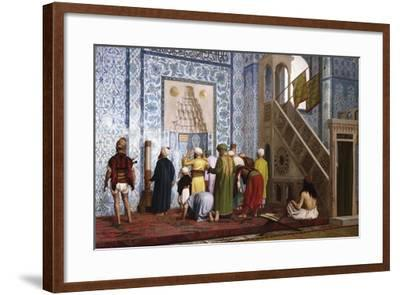 The Blue Mosque, 1878-Jean-L?on G?rome-Framed Giclee Print