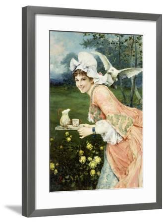 Tea Time Tease-Francesco Vinea-Framed Giclee Print