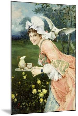 Tea Time Tease-Francesco Vinea-Mounted Giclee Print