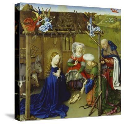 Nativity-Jacques Daret-Stretched Canvas Print
