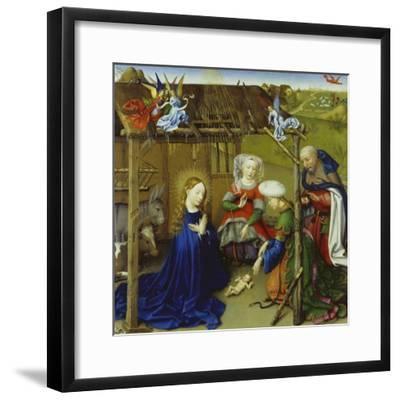Nativity-Jacques Daret-Framed Giclee Print