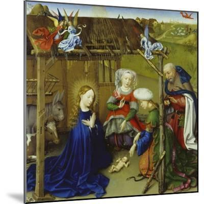 Nativity-Jacques Daret-Mounted Giclee Print
