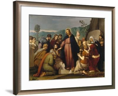 The Raising of Lazarus, 1808-Johann Friedrich Overbeck-Framed Giclee Print
